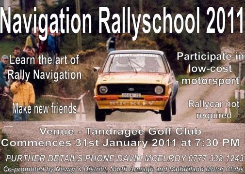 Navigation Rally School 2011