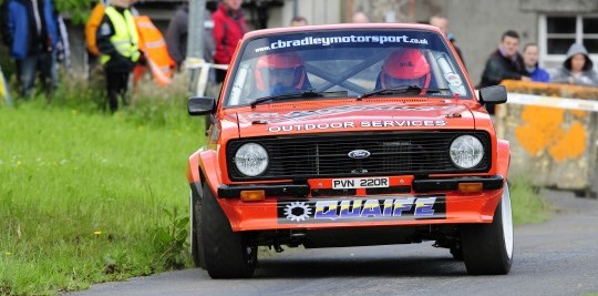 Loughgall Stages Rally 2012