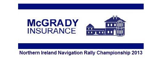 McGrady Insurance NI Nav Rally Champ 2013 Logo 2